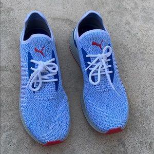 Puma Avid Evoknit Men Sneaker Blue/White Size 10.5